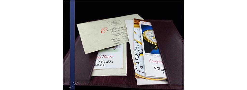 Patek Philippe ref. 3970