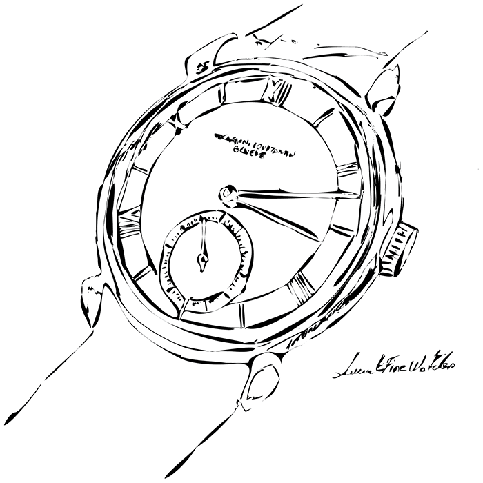 Reflecting on the Beauty of a Watch through Sketching