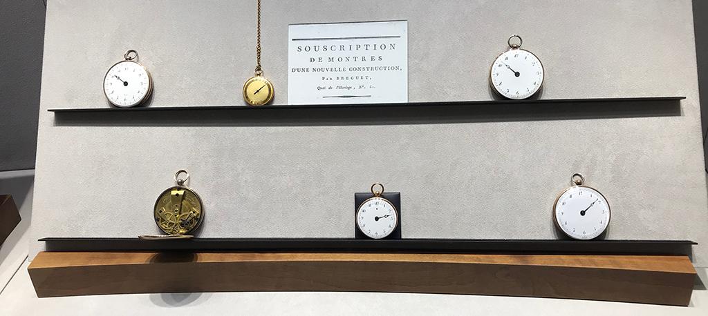 Souscription de montres d'une nouvelle construction par Breguet