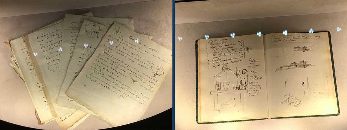 Documents relating to the original patents for the tourbillon and the constant force escapement