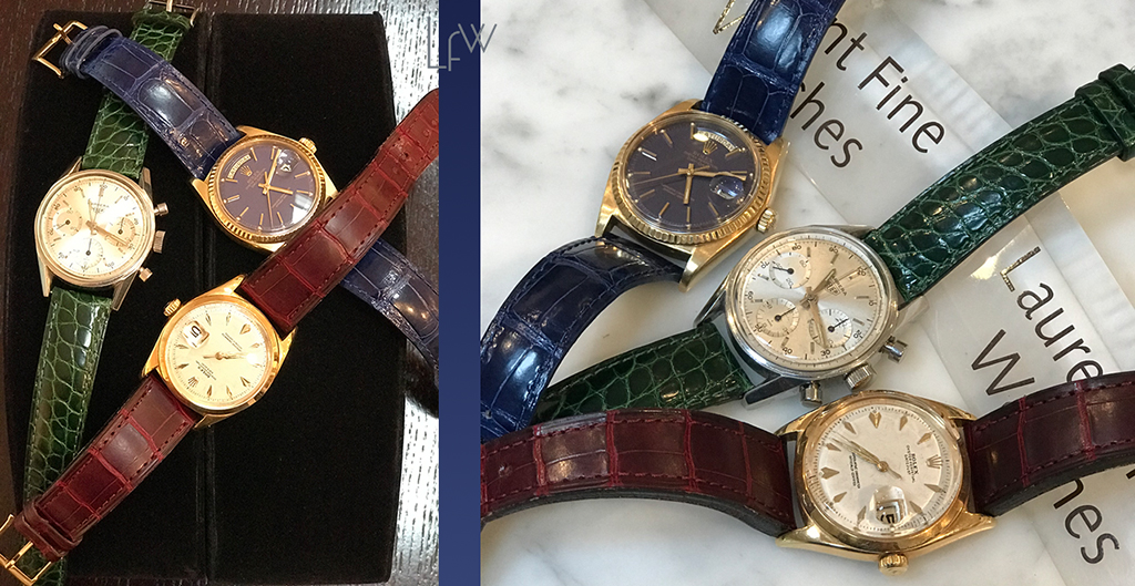 The handsome aesthetic and high quality of the brand's straps