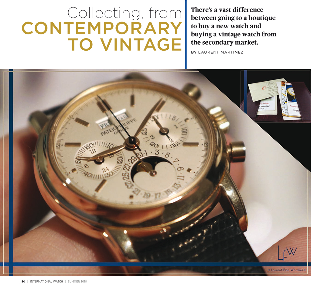 iW [international Watch] Magazine Summer issue
