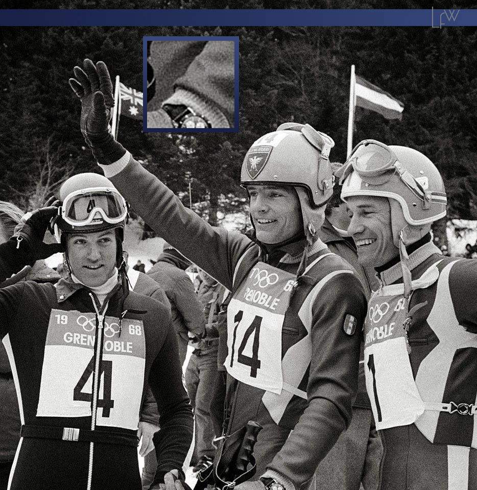 Jean-Claude Killy - Grenoble Olympic Games 1968