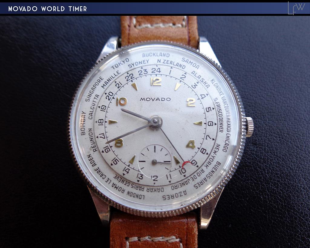 Movado World Timer