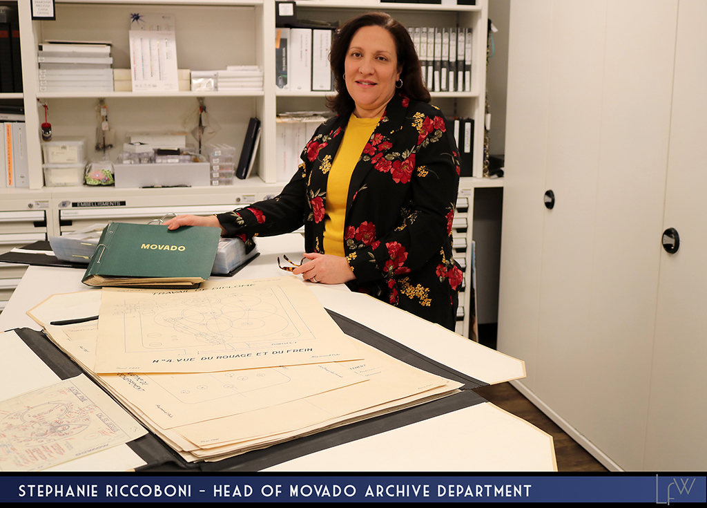 Stephanie Riccoboni - Head of Movado Archive department