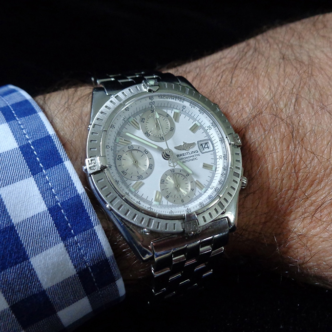 Breitling Chronomat Automatic With Reference A13352brin Stainless Steel
