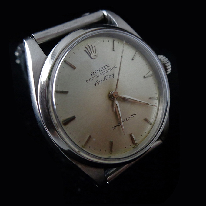 1962 Vintage Rolex Air King Oyster Perpetual With Caliber 1530